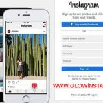 Register and create an account in Instagram 2018