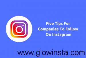 Tips To Follow For Companies On Instagram