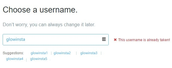 how to change Twitter @