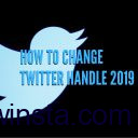 How to Change Twitter Handle (Updated – 2019)