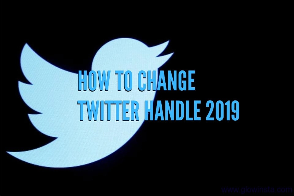 How to Change Twitter Handle in 2019
