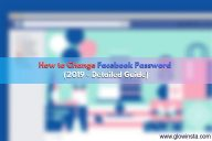 How to Change Facebook Password (2020 – Detailed Guide)