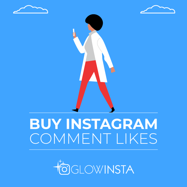 Buy Instagram Comment Likes - 100% Authentic & Active - GlowInsta