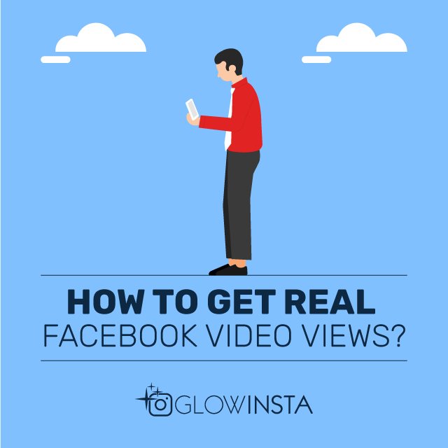 how to get real facebook video views