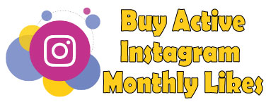 buy active Instagram monthly likes