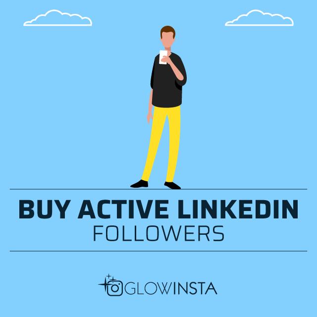 Buy Active Linkedin Followers