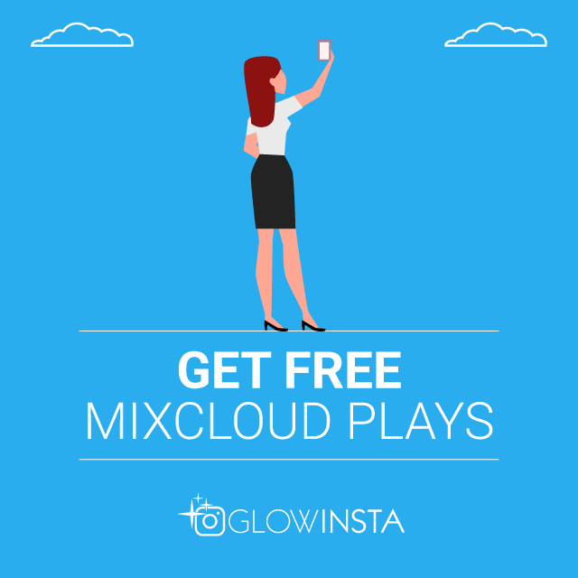 get free mixcloud plays
