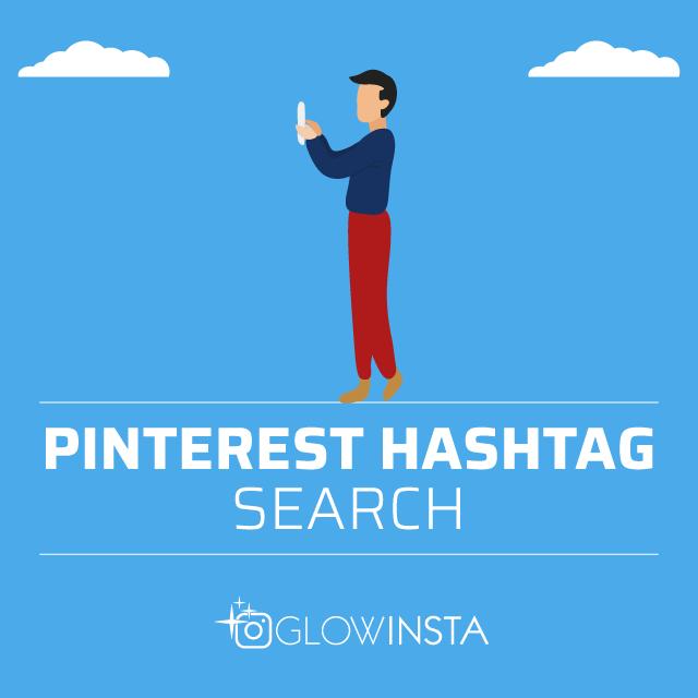 pinterest hashtag search